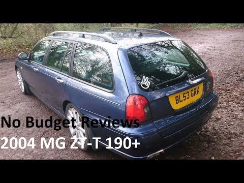 No Budget Reviews: 2004 MG ZT-T 190+ (Rover 75/MG ZT) - Lloyd Vehicle Consulting