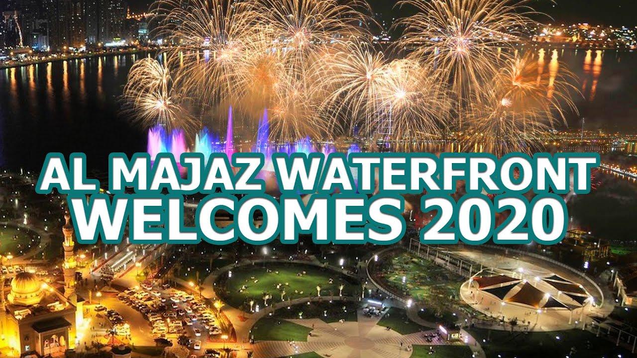 SHARJAH NEW YEAR Fireworks 2020 HIGHLIGHTS | UAE New Year | Sharjah Waterfront - YouTube