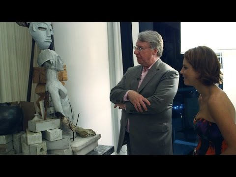 Jim Chanos Gives Tour of Art Collection and Art Basel