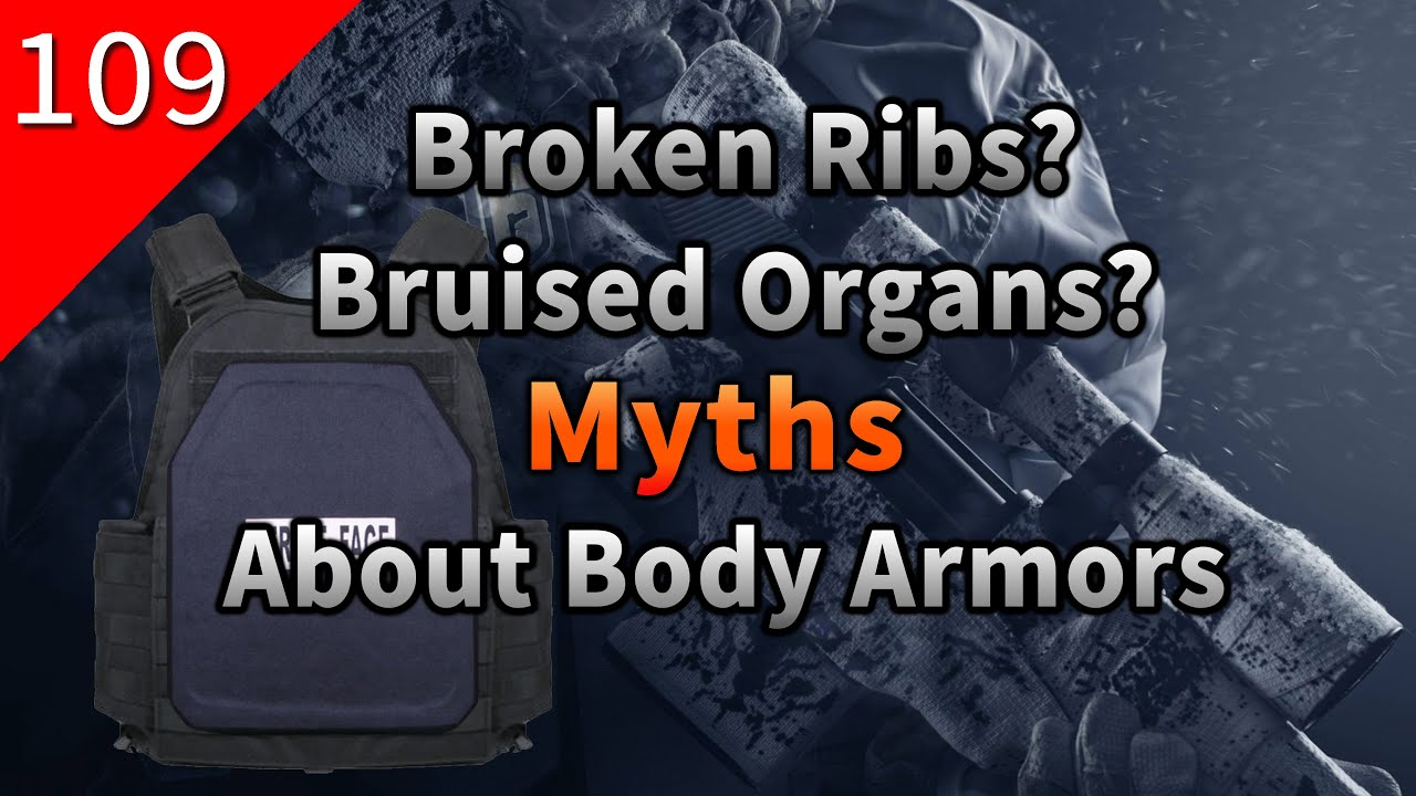 [Not Just Games] Broken ribs? Bruised organs? Why are there so many myths about body armors?