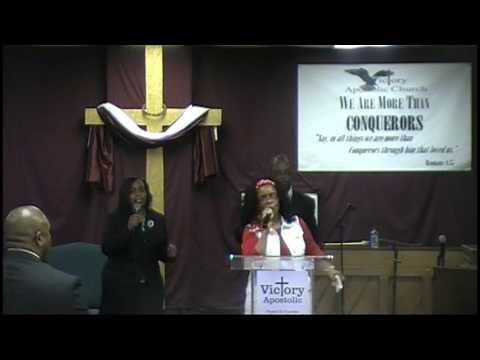 Victory Apostolic - I Samuel 30:8 - Guest Speaker Minister Terry G. Richardson
