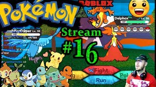 POKEMON in ROBLOX Ch.#15, 1st time playing PC(Max Graphics) #16th Stream
