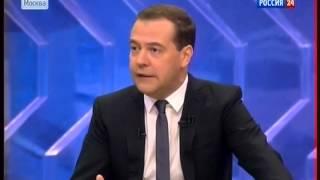 Medvedev - valyuta mish-mishlarga hech narsa jiddiy 20141210