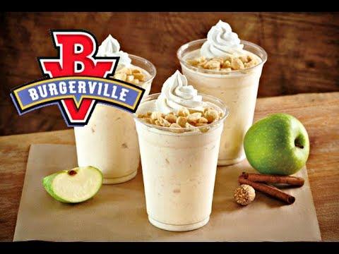 Trying Burgerville's Apple Spice Milkshake