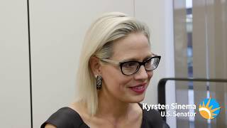 Sen. Kyrsten Sinema talks about her goals for the term - The Gaggle