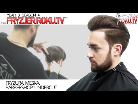 Fryzura Męska Barbershop Undercut Fryzjerrokutv Youtube
