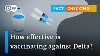 Fact check: Do COVID-19 vaccines protect against the delta variant?   DW News