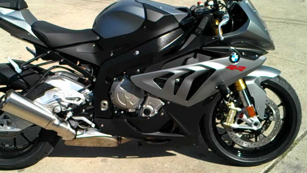 Hd 2013 Bmw S1000rr Granit Grey Metallic Matt