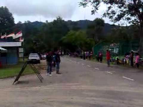 acara pacak basikal 100meter bukit ibam pahang