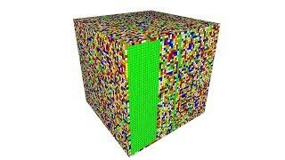 A. I. 55 x 55 x 55 Rubik Küp Çözer