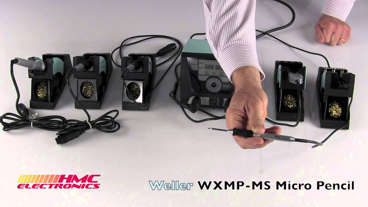 weller wxmp ms micro soldering iron youtube. Black Bedroom Furniture Sets. Home Design Ideas