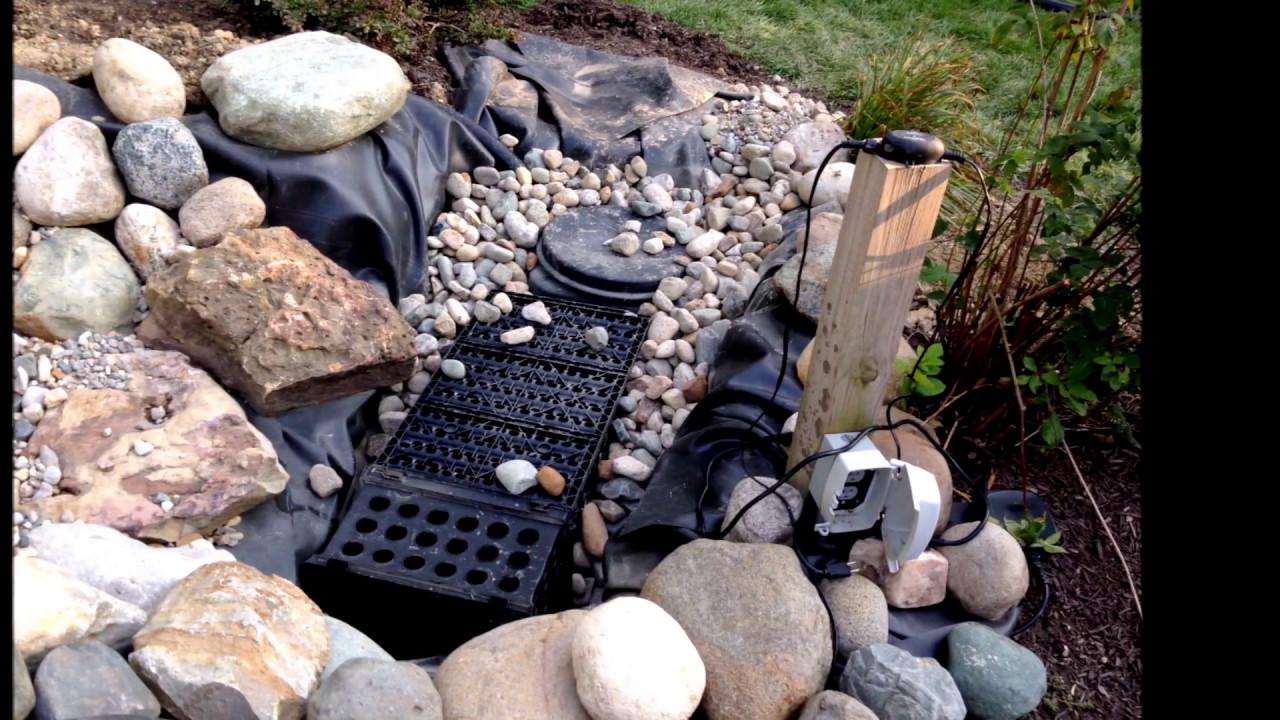 Diy Backyard Pond Ideas