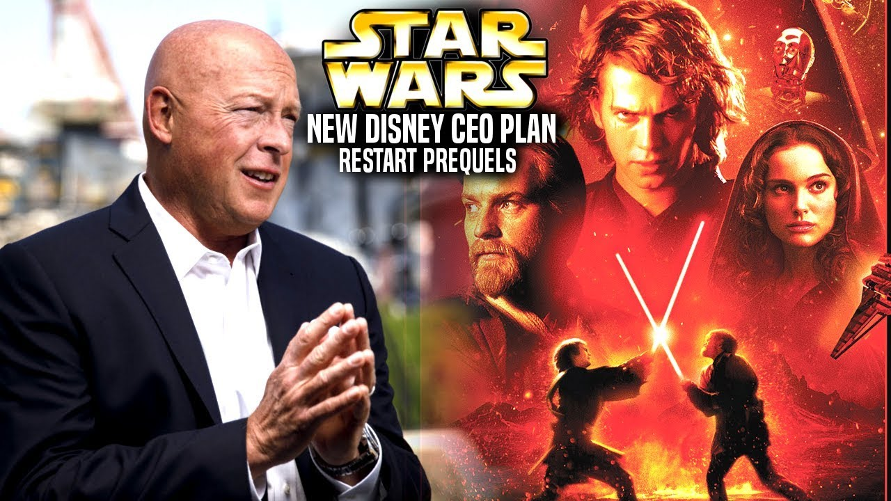 New Disney Ceo Plan To Restart The Prequel Trilogy Star Wars Explained Youtube