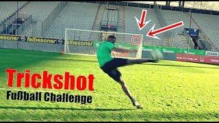 Ksfreak vs Profi | Trickshot-Challenge im Stadion | + BESTRAFUNG
