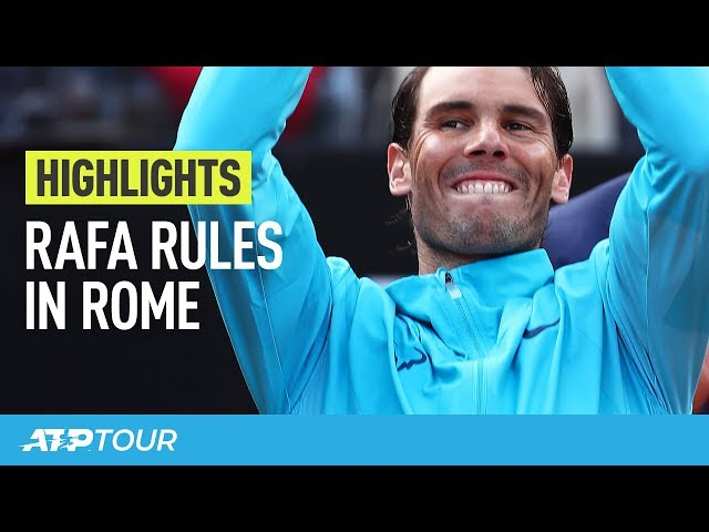RAFA RULES IN ROME! | The Best Moments from Nadal's Ninth Rome Title