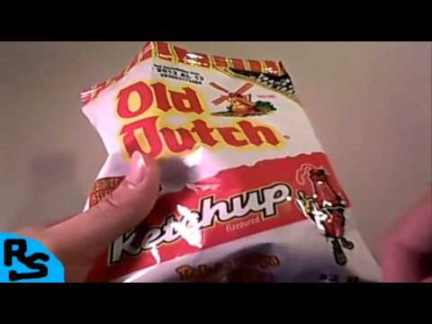+RS Old Dutch Ketchup Potato Chips Review