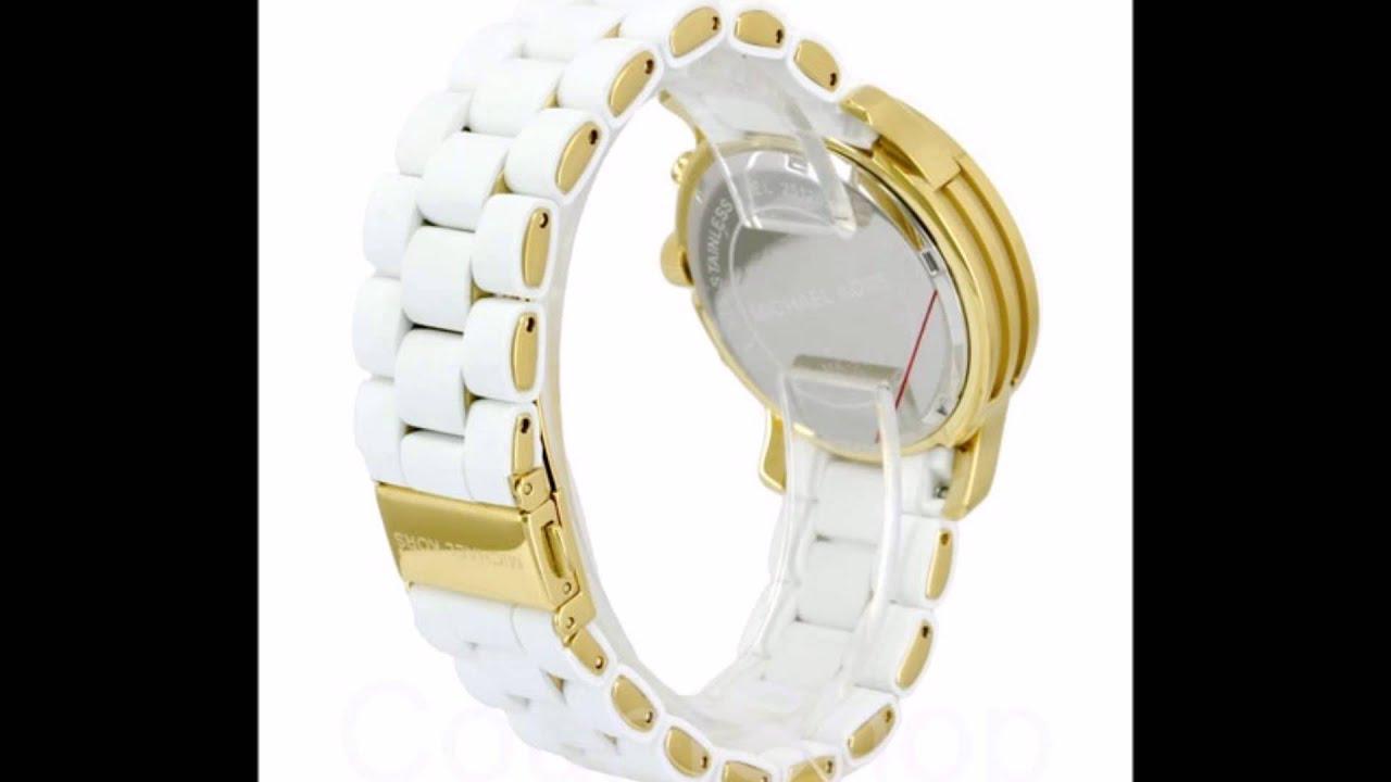 17e0b24d150e Michael Kors Reloj a Pedido Mujer MK5145 Blanco Dorado - YouTube