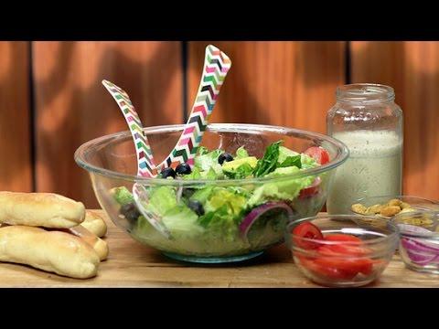 how to make olive garden breadsticks and salad - How To Make Olive Garden Salad
