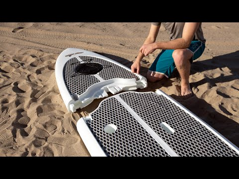 Easy Eddy: the world's first collapsible hard SUP