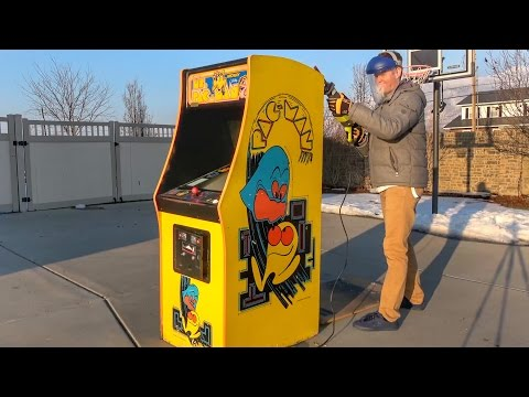 What's inside an Arcade Machine?