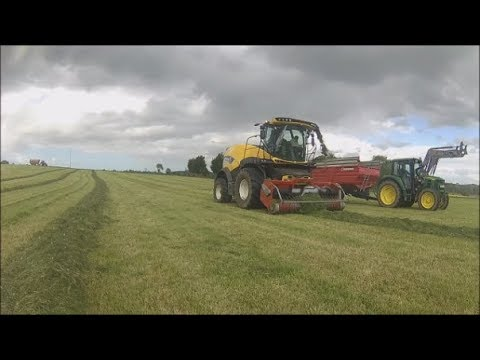 [GoPro]Ensilage D'Herbe  2018 | ETA Onfray | New Holland FR550 Forage Cruiser