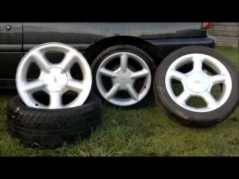 Rims Vs Wheels >> Escort Cosworth Vs Escort GTi Vs Mondeo Ghia Ford Alloy wheels - YouTube