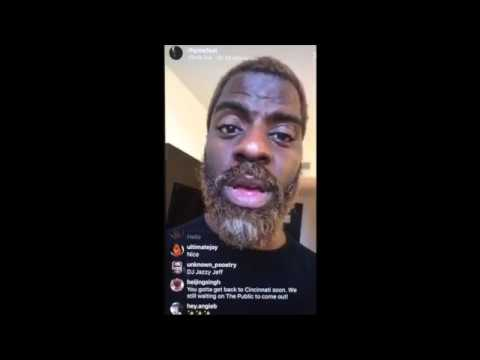 Rhymefest on tourlife - Answering Kodie's question on Instragram Live Stream