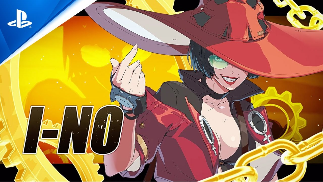 Guilty Gear -Strive - I-no Character Reveal Trailer