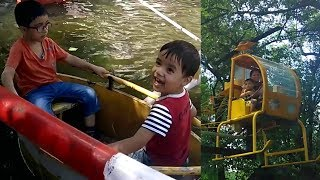 My Toddler times activities, First time ride Helicopter and Boat at Zoo!!