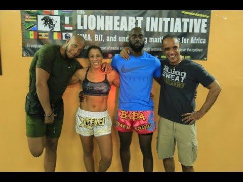 Interview des champion de France Muay Thai Naoil Tita et Cyril Gane