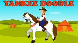 Yankee Doodle Nursery Rhyme with Lyrics