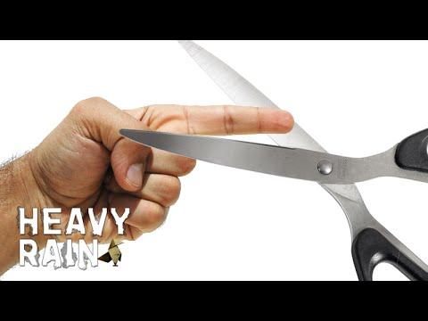 Je eigen vinger eraf snijden! - Heavy Rain #9