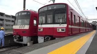 京急1725編成 1167SH 三崎口発車