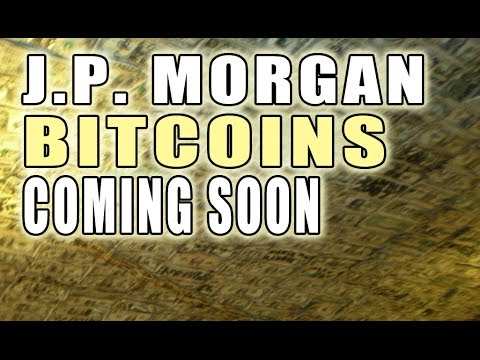 JP Morgan Will DOMINATE BitCoin!