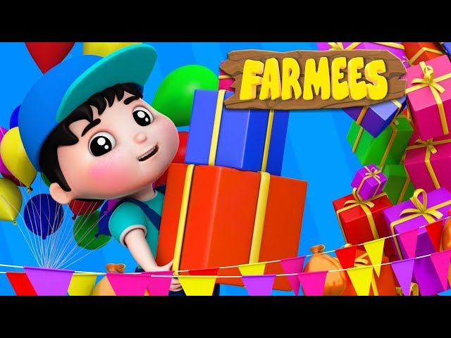 Happy Birthday Song | Nursery Rhymes Songs For Children | Videos For Kids by Farmees