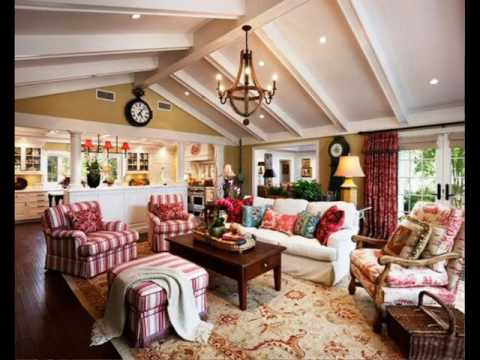 Delightful Country French Living Room Decorating Ideas