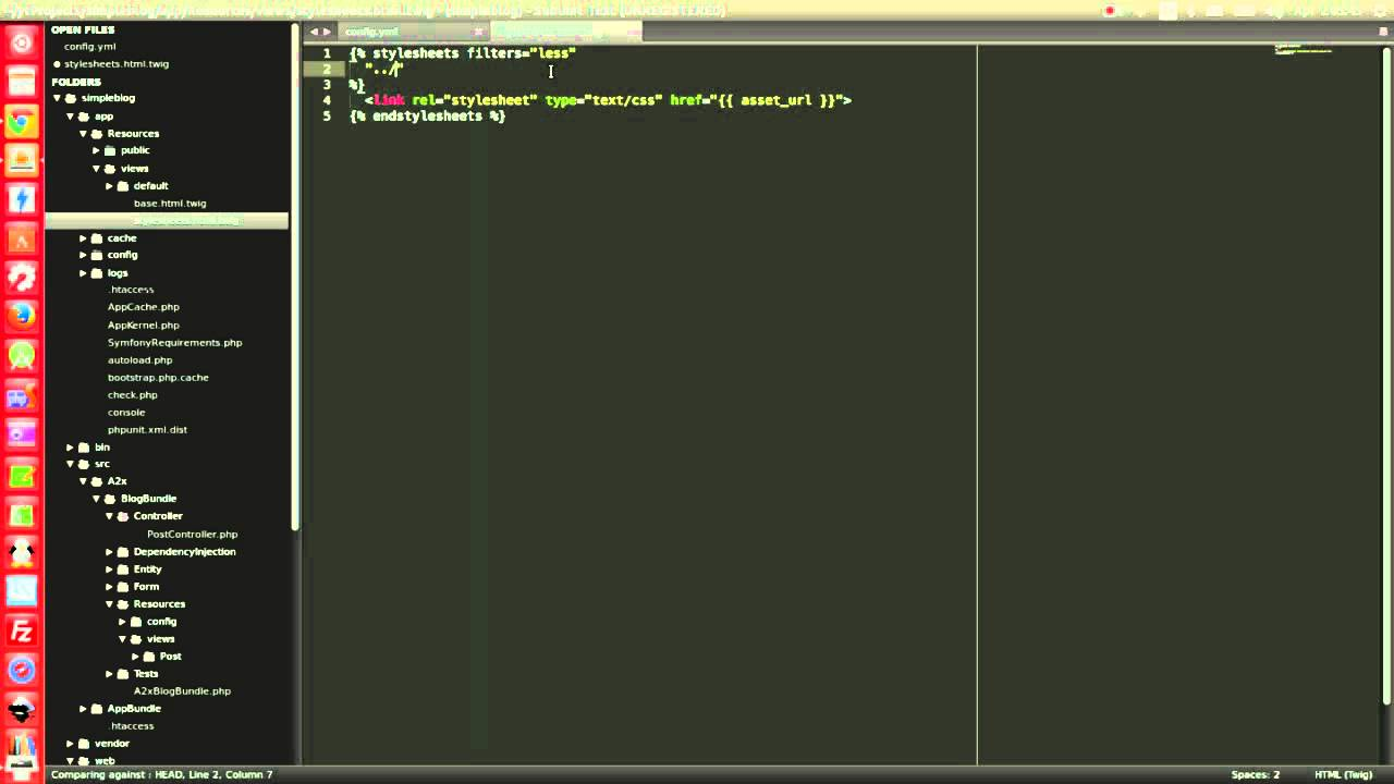 How to use Assetic in Symfony