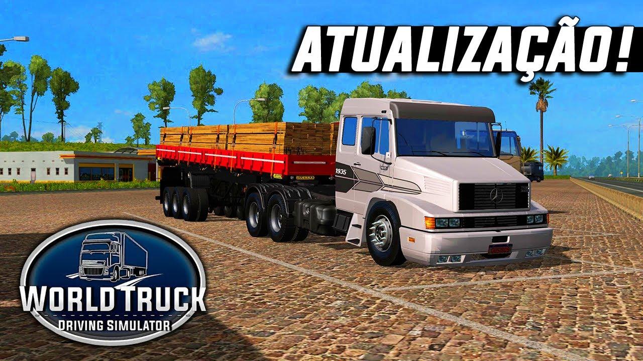 Nova Atualização do World Truck Driving Simulator - Rio de Janeiro, Celular e Novos Sistemas