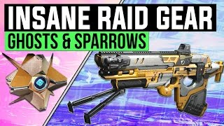 Destiny News | New Raid Ghost Shells, Sparrow, Adept Raid Weapons in Depth & Crota's End Changes!