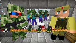 Супер план Хантера [ЧАСТЬ 17] Зомби апокалипсис в майнкрафт! - (Minecraft - Сериал)