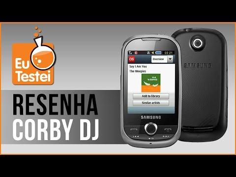 Corby DJ M3710 Samsung - Vídeo Resenha EuTestei Brasil