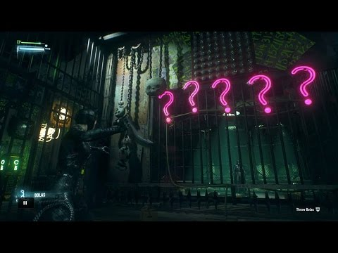 Batman Arkham Knight - How to get 3rd key of Catwoman  inside 1st room or 1st door