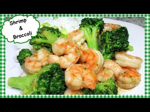 Chinese Shrimp And Broccoli Stir Fry With Garlic Sauce Recipe