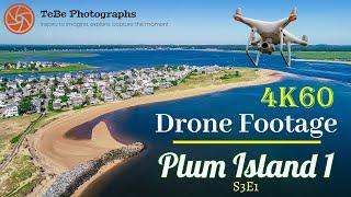 4K60 Drone Footage | Plum Island, MA I