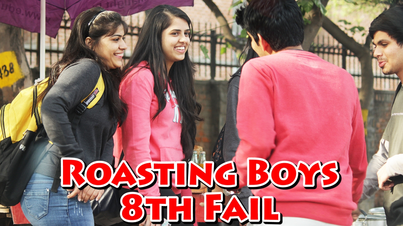 Roasting Boys in Public   eighth Fail Prank   Most Humorous Prank | THF   Ab Mauj Legi Dilli