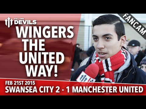 Wingers The United Way! | Swansea City 2 Manchester United 1 | FANCAM