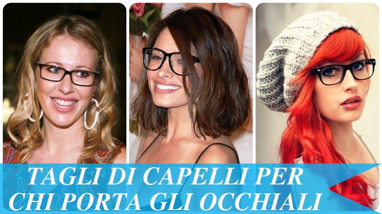 Tagli di capelli corti per donne con occhiali
