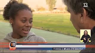 Niña haitiana adoptada en 2006 ahora es una destacada atleta chilena