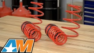 2015 2017 mustang eibach sportline lowering spring kit gt review install