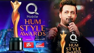 Darasal ft  Aitebar - Atif Aslam -   QMobile Hum Style Awards 2017